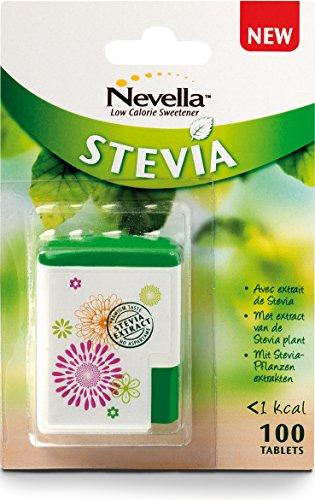 Nevella Stevia dispenser - 1 Dispenser da 100 Compresse [5 gr]