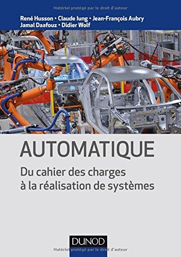 Automatique - Du cahier des charges  la ralisation de systmes