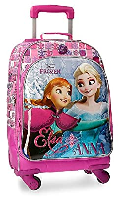 Disney Magic Mochila Escolar, 44 cm, 30.49 Litros, Multicolor por Disney