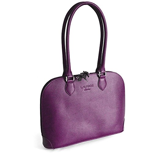 Sac New-york cuir Fabrication Luxe Française Violet