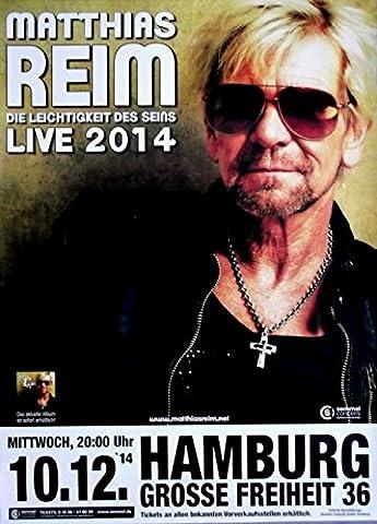 REIM, MATTHIAS - 2014 - Konzertplakat - Die Leichtigkeit des Seins - Tourposter
