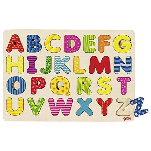 Goki maderaPuzzles de maderaGOKIAbecedario Puzzle, 1