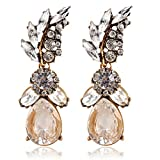 Bling N Beads Gold Plated Crystal long P...