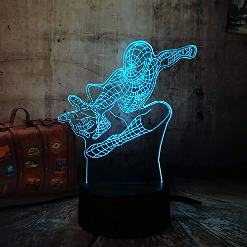 wangZJ 3d Visual Illusion Lamp / 3d Led luz de noche /...