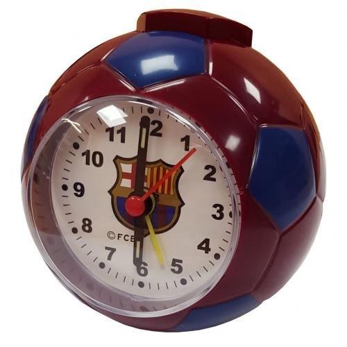 F.C. Barcelona reloj con alarma en forma de balón de fútbol CL