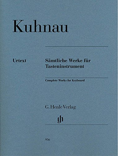 Complete Works (Oeuvres Completes) for Keyboard --- Piano par Kuhnau J