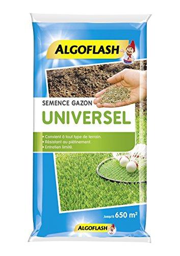 ALGOFLASH Semence.Gazon.Univ.10kg Semences Gazon Universel 10 Kg, Bleu, 44 x 10 x 67 cm
