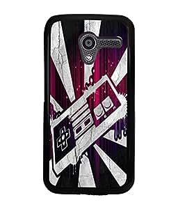 Fuson 2D Printed Designer back case cover for Motorola Moto X - D4506