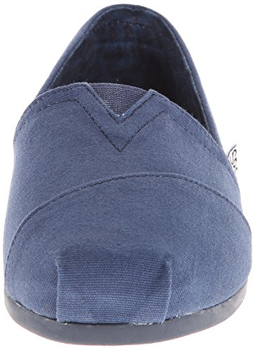 Bobs De Skechers Peluche Peace And Love Flat Navy