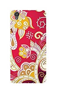 ZAPCASE PRINTED BACK COVER FOR ONE PLUS X - Multicolor
