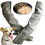Manipulación de animales Guantes de protección contra mordidas y rasguños engrosados Guantes de protección, guantes de alimentación Perro gato Pájaro Pájaro loro Guantes de protección de lagarto