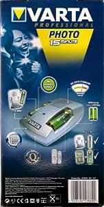 Chargeur de batteries AA + AAA - VARTA - photo 15minute - (inclus 2 x AA photo 15 mn - 2300mAh)