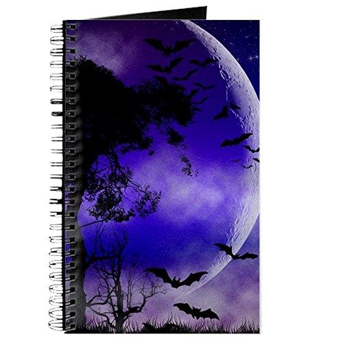 ight Moon–Spiralbindung Journal Notebook, persönliches Tagebuch, Aufgabe Tagebuch (Machen Halloween-magazin)
