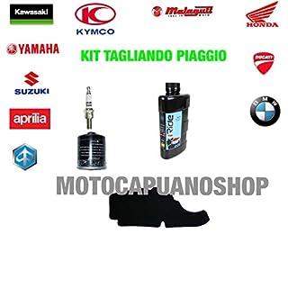 Kit tagliando Öl Agip Eni 5W40i-ride Piaggio Vespa LXV 4T 125200620072008