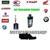 Kit tagliando Öl Agip Eni 5W40i-ride Piaggio Liberty RST 12520042005