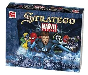 Winning Moves - Jeu de société - Stratego Marvel
