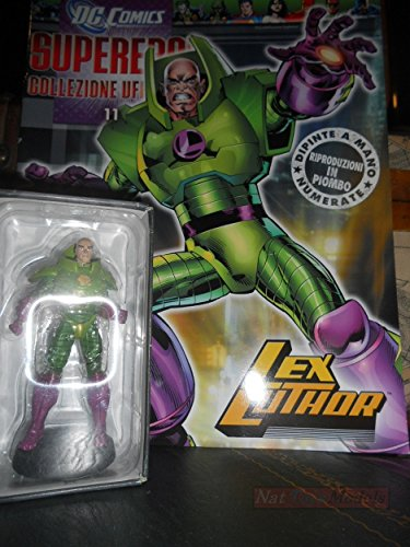 DC Comics Supereroi Lex Luthor Eaglemoss Figure Statue Collection +fas