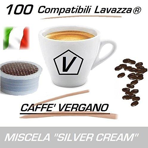 Capsule Compatibili Lavazza Espresso Point®, 100 Capsule Caffè Vergano Miscela