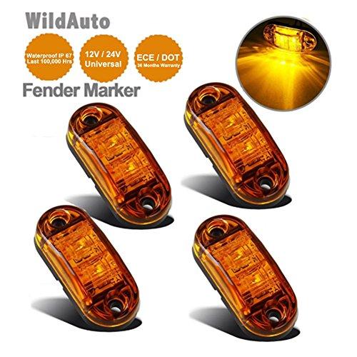LED-Seitenmarkierungsleuchten-12V-24V-fuer-Auto-LKW-...