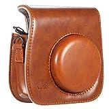 Andoer® Leder Kamera Tasche Abdeckung für Fuji Fujifilm Instax Mini8 Mini8s einzelner Schulter-Beutel