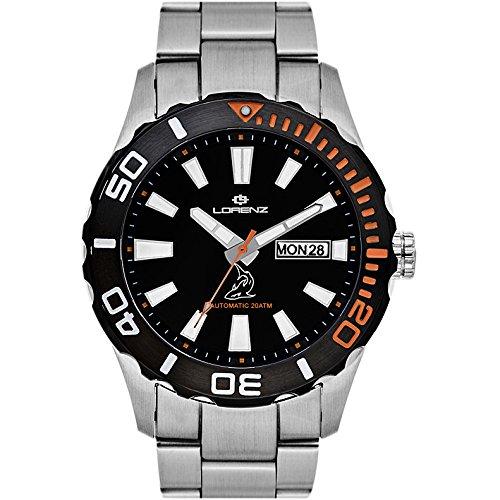 Reloj mecánico Hombre Lorenz Shark II deportivo Cod. 030107AA