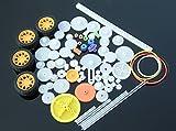 Kunststoff Getriebe Zahnrad Set Plastic Gears Toy für DIY Modelle / Roboter / Getriebe (QY17)
