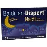 Baldrian-Dispert Nacht zum Einschlafen Tabletten, 25 St.