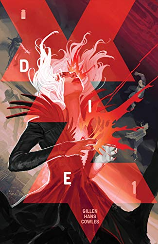 Cover art for DIE by Kieron Gillen