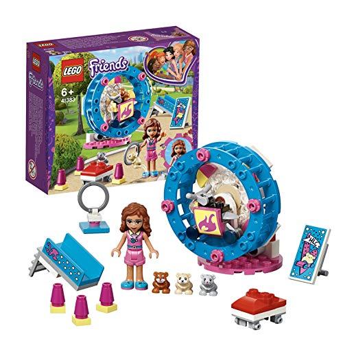 Lego 41383 Friends Olivias Hamster-Spielplatz, bunt