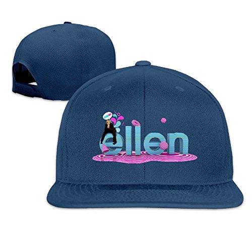 thna-ellen-ellen-degeneres-show-logo-verstellbar-fashion-baseball-hat-gr-einheitsgrosse-navy
