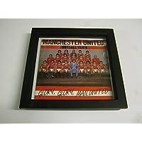 "Manchester United F.C. - Glory Glory Man Utd - Wall Framed 7"" Vinyl Record Sleeve"