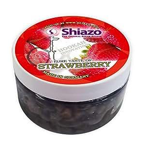 Shiazo - Pierres complexe minéral - Sans nicotine - Fraise - 100gr