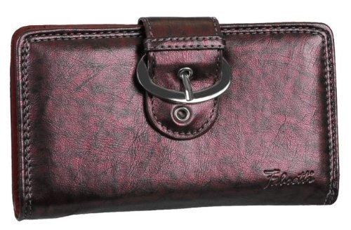 Eye Catch Porte feuille porte carte en simili cuir poche zip intérieur - Femme