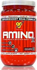 BSN Amino X 435 g Fruit Punch -- Amino Acid Powder for Recovery & Muscle Growth