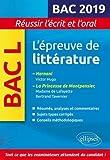 L'épreuve de littérature Bac 2019. Hernani, Victor Hugo. La princesse de Montpensier, Madame de Lafayette / Bertrand Tavernier