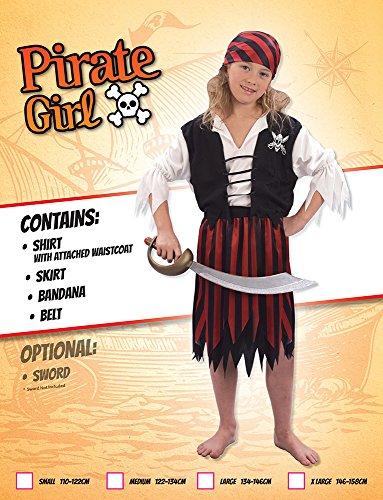 Imagen de disfraz de niña de piratas del caribe. 10  13 años alternativa