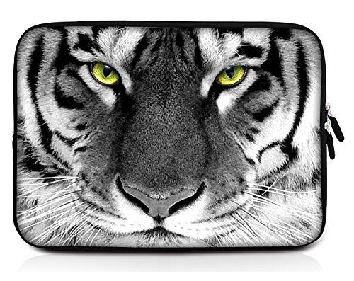 Sidorenko 15-15,6 Zoll Laptop Hülle - Laptoptasche aus Neopren, 42 Designs zur Auswahl, Grau