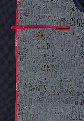 Club of Gents Herren Anzugjacke K-Andy Ss Blau