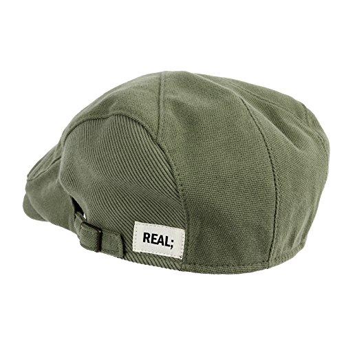 "WITHMOONS Béret Casquette Chapeau Modern Cotton ""REAL;"" Newsboy Hat Flat Cap AC3045 Vert"
