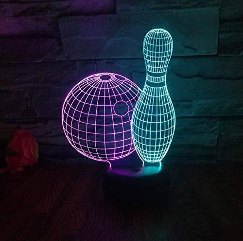 Nachtlicht Kreative Visuelle Party Usb Led Lampe Dekoration Weihnachten Dekorative Lichter ()