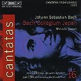 Intégrale Des Cantates Vol. 16