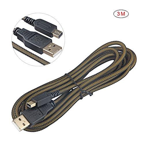 Preisvergleich Produktbild Hapurs 3M / 9.8FT Hochgeschwindigkeits-Premium-USB-Ladegert Ladekabel f¨¹r Nintendo 3DS XL / 3DS / DSi / DSi XL