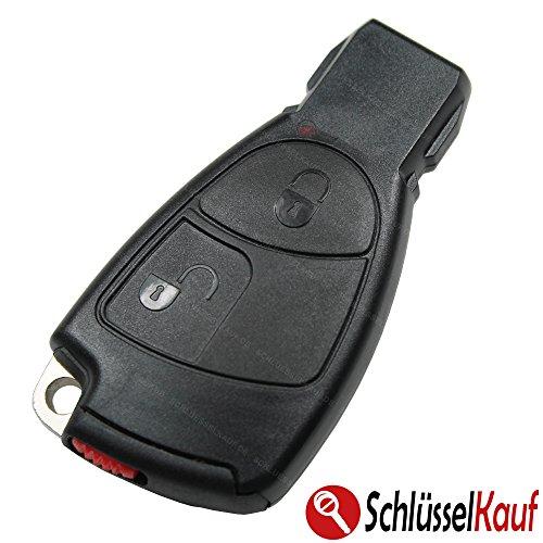 KONIKON Autoschlüssel SET 2 Tasten Schlüsselgehäuse Schlüsselrohling Batteriefach NEU