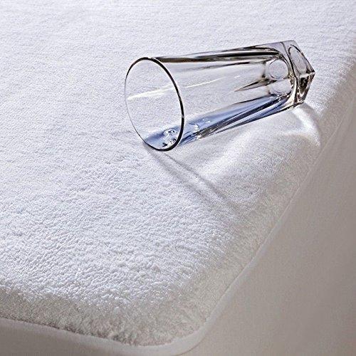 A1A AVENUE Frottier Wasserdicht Matratzenschoner Matratze, Baumwolle/Polyester, Cot-Bed -