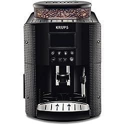 Krups EA815070Machine à café automatique (1,8l, 15bar, écran LC, buse CappuccinoPlus) Noir Manuel d'utilisation (langue française non garantie)