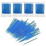 JZK 400 x Microbrush extension ciglia spazzolini ciglia monouso pennelli ciglia bastoncini ciglia applicatori per applicazione ciglia finte