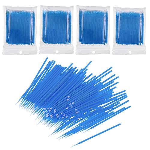JZK 400 Piezas plastico desechables cepillos pestañas