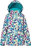 Burton,Giacca Elodie da Snowboard per Ragazza, Bambina, 13045102971, Rainbow Drops, XL