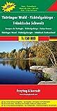 Freytag Berndt Autokarten, Thüringer Wald - Fichtelgebirge - Fränkische Schweiz 1:150.000 (freytag & berndt Auto + Freizeitkarten) - Freytag-Berndt und Artaria KG