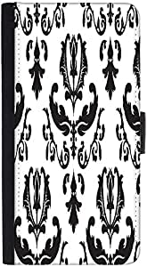 Snoogg String Pattern Designer Protective Phone Flip Back Case Cover For Xiaomi Redmi Note 3